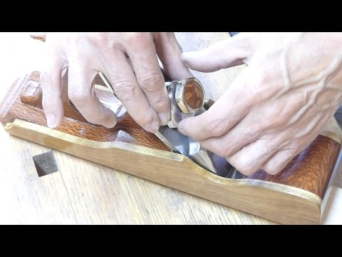 Make a lever cap screw for my wooden hand plane