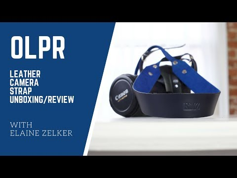 OLPR Leather Camera Strap Unboxing & Review