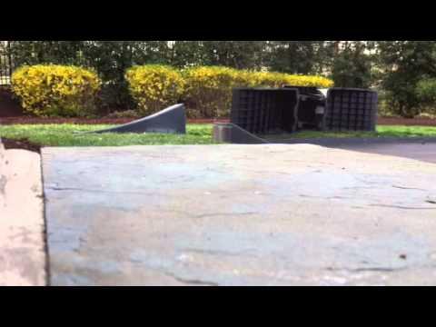 Razor MX650 Backyard jump