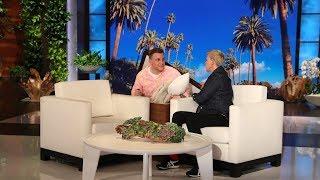 Ellen Reveals the Secret to Her Box Scares