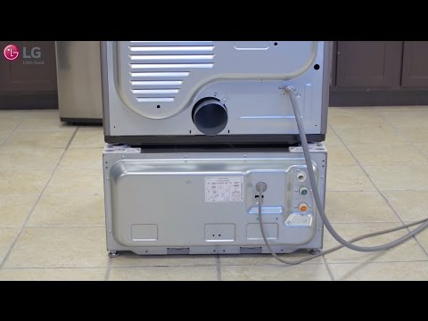 LG SideKick™ Installation Under a Dryer (Top Load Situation)