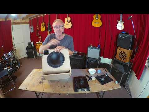 Vlog#2 how to DIY Build an acoustic guitar and stomp box amp.