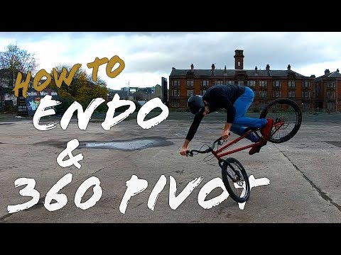 How To Endo, 180 and 360 Front Pivot A Bike