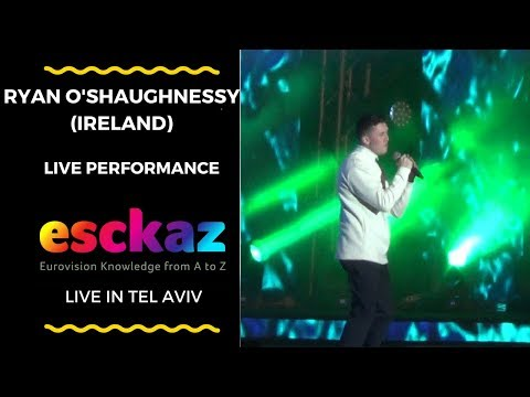 ESCKAZ in Tel Aviv: Ryan O'Shaughnessy (Ireland) - Together (at Israel Calling)