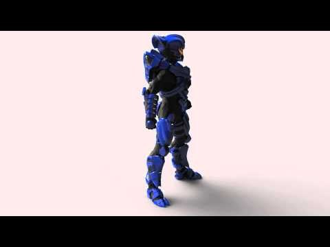 Halo 5 Guardians multiplayer beta - Helios Skrill suit