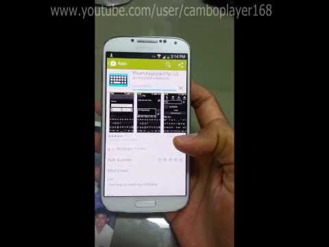 How to install khmer keyboard without root in Samsung Galaxy S4