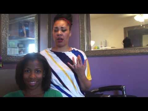 CHI Enviro On Natural African American Hair - Houston, Texas