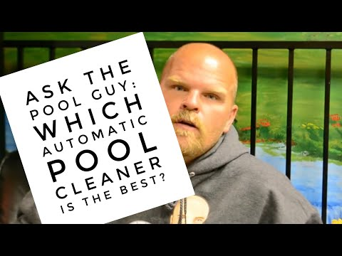 Ask the Pool Guy: All About Pool Cleaners {FAQ}