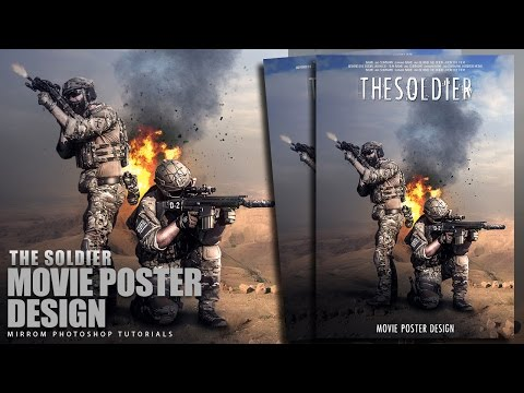 Create The Soldier Movie Teaser Poster Photoshop Tutorial