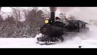Narrow Gauge Steam In The Snow