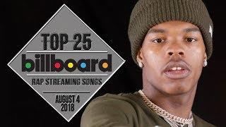 Top 25 • Billboard Rap Songs • August 4, 2018 | Streaming-Charts