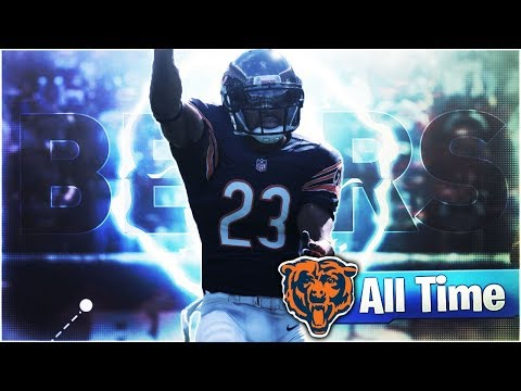🐻ALL-TIME CHICAGO BEARS THEMED TEAM SQUAD BUILDER! Madden 18
