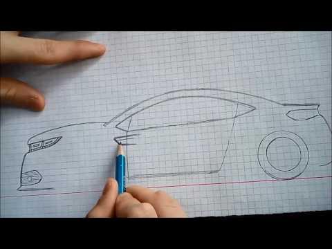Harika Bir Araba çizimi 001 Pakvimnet Hd Vdieos Portal