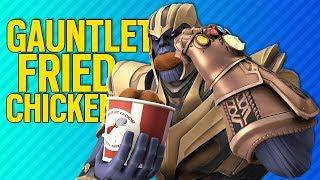 GAUNTLET FRIED CHICKEN | Fortnite