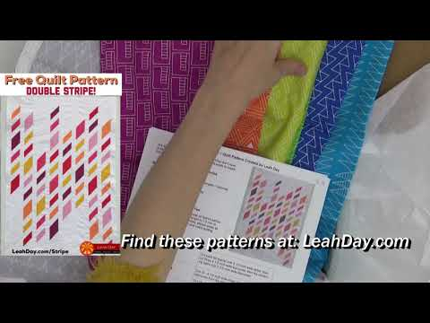 Check Out the Beautiful Fabrics in Quilty Box April 2018