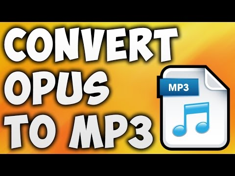 How to Convert OPUS to MP3 Online - Best OPUS to MP3 Converter [BEGINNER'S TUTORIAL]