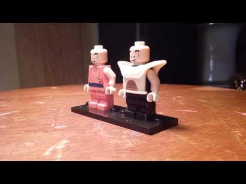 Lego custom dbz, krillin, saiyan armor