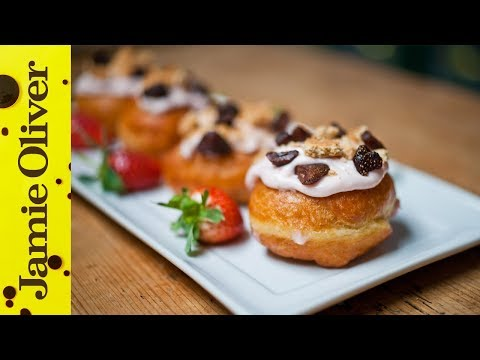 Strawberry Doughnuts with Sortedfood