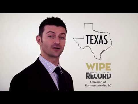 Texas Criminal Expungement Lawyer | Texas Record Sealing Information