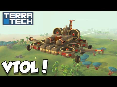 Building a VTOL! - Terratech [Ep.7] - Let's Play TerraTech v0.6.5