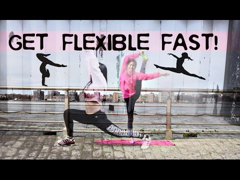 HOW TO GET REALLY FLEXIBLE IN 5 MINUTES