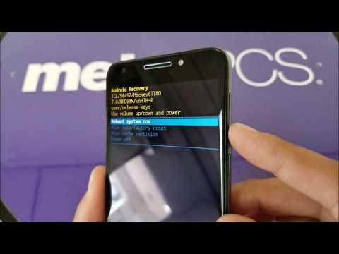Alcatel A30 Fierce  Hard Reset, Pattern,PIN, Password removal For metroPCS