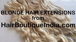 Buy Blonde Hair Extensions Wholesale Human Hair Manufacturer Supplier