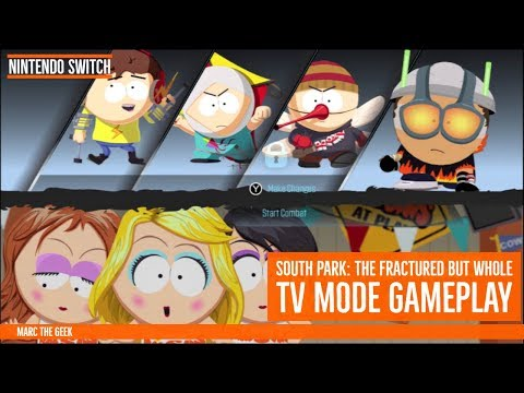 Nintendo Switch South Park TV Mode Gameplay