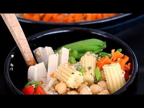 Easy Brown Rice Buddha Bowl Recipe