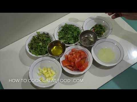 Green Chilli & Cilantro Chutney Recipe - Spicy Indian Salsa
