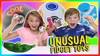 Download MOST UNUSUAL FIDGET TOYS | We Are The Davises Video