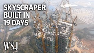 Watch a 57-Story Building Go Up in 19 Days