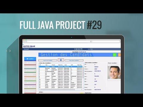 Projet Java#29:Comment insérer date du système dans la base de donnée Mysql