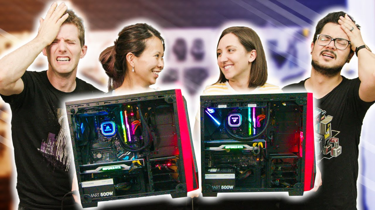 We FAILED as husbands... - Wife PC Build-Off