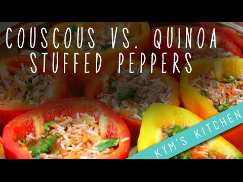 Healthy & Fast Stuffed Peppers Recipe!