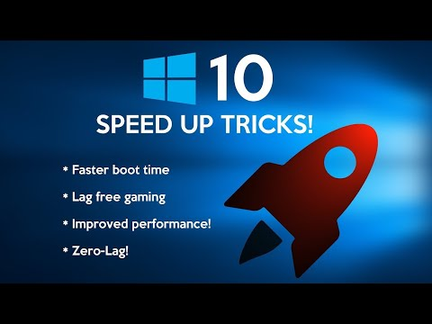 How to Speed Up Windows 10 Performance 1000%