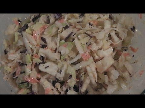 Quick Easy Coleslaw Recipe