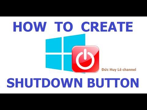 How To Create Shutdown Shortcut In Windows 8