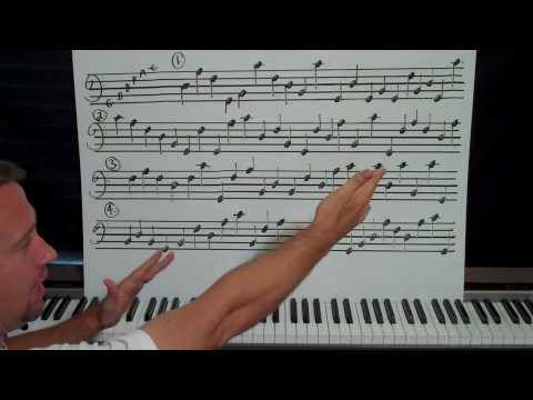 Piano Sight Reading Lesson Part 1 of 32