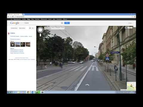 Jak uruchomić Google Street View?