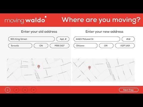 MovingWaldo: Change of address service Quebec and Ontario