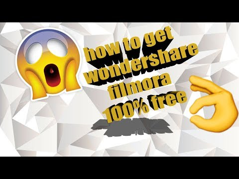 How to Get Wondershare Filmora for free!! (working 2017!!!)
