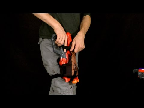 Nerf Hip Blaster Holster Review and Testing