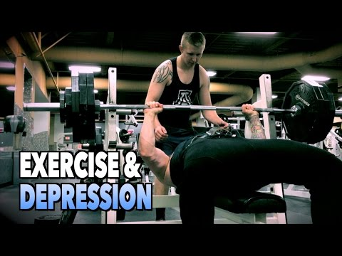EXERCISE & DEPRESSION: Workout Motivation for the Down & Out