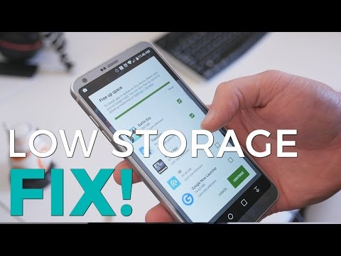 How to use Adoptive Storage on the LG G6