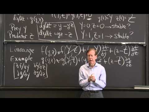 Linearization of Two Nonlinear Equations