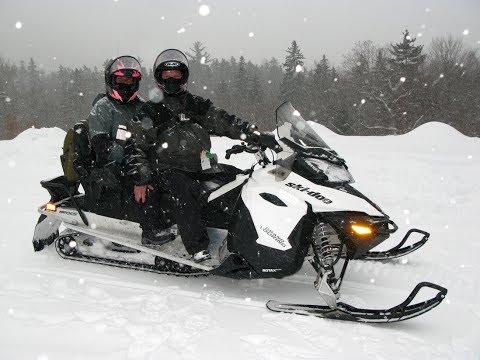 Snowmobiling White Mountains, Bartlett, N.H.   2018
