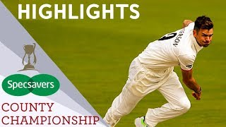 Hameed Hits First Century In 3 Years | Middlesex vs Lancs | Specsavers County Championship 2019