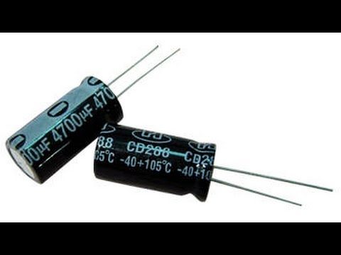 how to identify bad capacitor simple