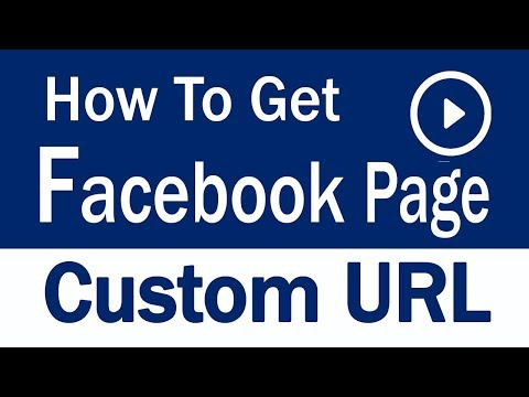 How to create Facebook Page Custom URL